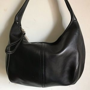 Coach shoulder bag - Black Leather
